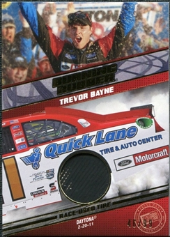 2012 Press Pass Burning Rubber Gold #BRTB Trevor Bayne /99