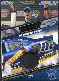 2012 Press Pass Burning Rubber Gold #BRBK2 Brad Keselowski /99