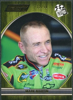 2012 Press Pass Power Picks Gold #13 Mark Martin /50