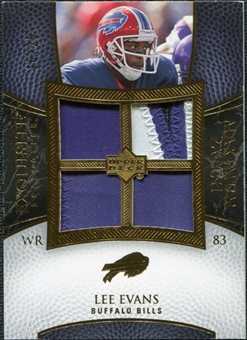 2007 Upper Deck Exquisite Collection Maximum Patch #LE Lee Evans /25