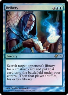 Magic the Gathering Promotional Single Bribery Foil (Judge)