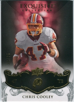 2008 Upper Deck Exquisite Collection #100 Chris Cooley /75