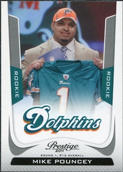 2011 Panini Prestige #301 Mike Pouncey Drft SP