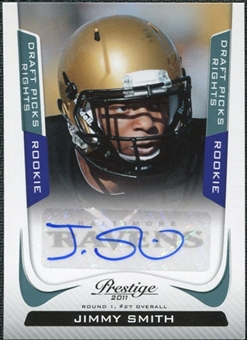 2011 Panini Prestige Draft Picks Rights Autographs #251 Jimmy Smith /599