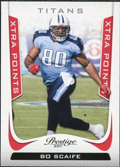 2011 Panini Prestige Xtra Points Red #190 Bo Scaife /100