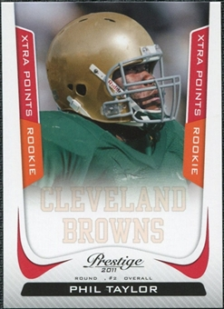 2011 Panini Prestige Xtra Points Red #275 Phil Taylor /100