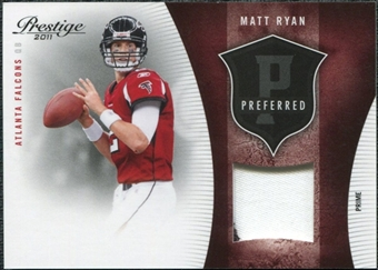 2011 Panini Prestige Preferred Materials Patch #5 Matt Ryan /50