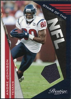 2011 Panini Prestige Stars of the NFL Materials #3 Andre Johnson /250