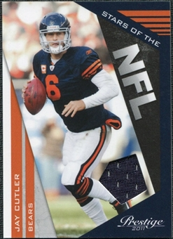 2011 Panini Prestige Stars of the NFL Materials #26 Jay Cutler /250