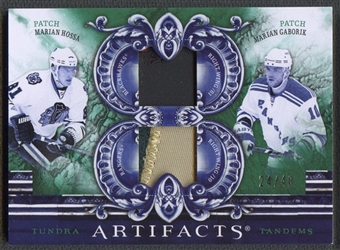 2010/11 Artifacts #TT2SVK Marian Hossa Marian Gaborik Patch #24/40