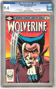 Wolverne Limited Series #1 CGC 9.4 (W) *1210738002*