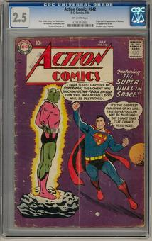 Action Comics #242 CGC 2.5 (OW) *1211315003*
