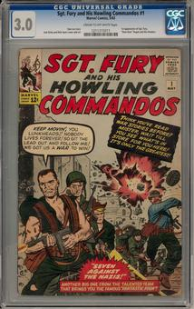 Sgt Fury and his Howling Commandos #1 CGC 3.0 (C-OW) *1211315011*