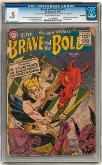 Brave and the Bold #2 CGC 0.5 (SB) *1211334008*