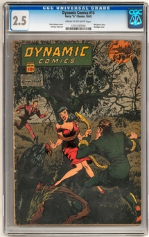 Dynamic Comics #16 CGC 2.5 (C-OW) *1211337010*