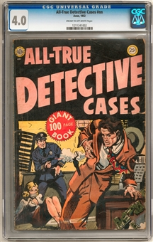 All-True Detective Cases #nn CGC 4.0 (C-OW) *1211341002*