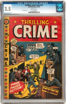 Thrilling Crime Cases #41 CGC 3.5 (B) *1211343010*