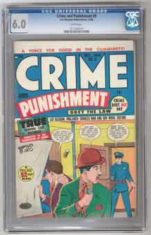 Crime and Punishment #9 CGC 6.0 (W) *1211367015*