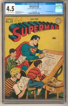 Superman #25 CGC 4.5 (OW-W) *1211387006*