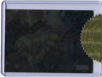 2011 Marvel Universe Case-Toppers #CT3 Sabretooth Magneto Venom