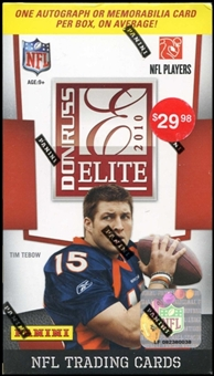 2010 Donruss Elite Football 5-Pack HOBBY Box