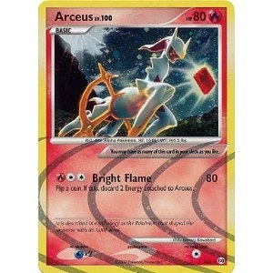 Pokemon Arceus Single Arceus lv. 100 AR3