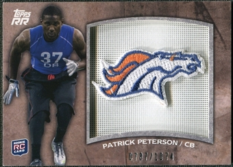 2011 Topps Rising Rookies Rookie Team Patches #RTPPP Patrick Peterson /1074