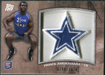 2011 Topps Rising Rookies Rookie Team Patches #RTPPA Prince Amukamara /1074