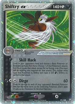 Pokemon Power Keepers Single Shiftry ex 97/108