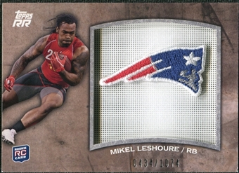 2011 Topps Rising Rookies Rookie Team Patches #RTPML Mikel Leshoure /1074