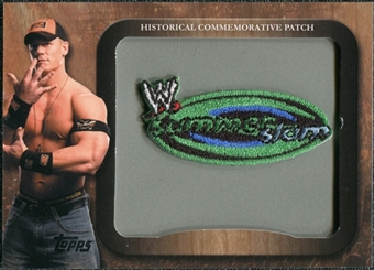 2009 Topps WWE Historical Commemorative Patch #P3 SummerSlam/John Cena