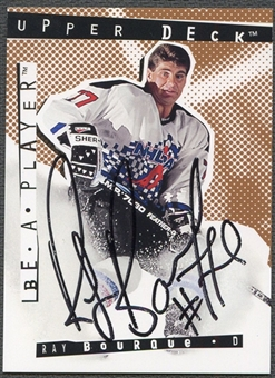 1994/95 Be A Player Autographs #32 Ray Bourque Auto
