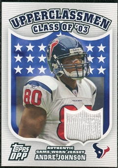 2007 Topps Draft Picks And Prospects Upperclassmen Jersey #AJ Andre Johnson A