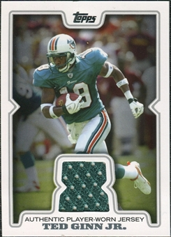 2008 Topps Retail Game Jerseys #TGI Ted Ginn