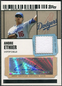 2009 Topps Ticket to Stardom Autograph Relics #AE Andre Ethier A Autograph /489