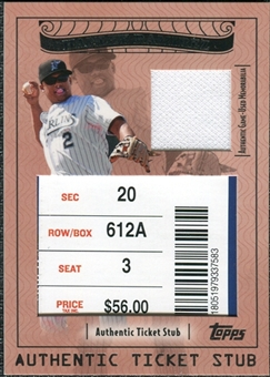 2009 Topps Ticket to Stardom Ticket Stubs Plus Memorabilia #TSP25 Hanley Ramirez /90