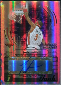 2006/07 Topps Trademark Moves Dunk Autographs Rainbow #SDU5 Josh Smith Autograph /19