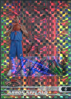 2007/08 Topps Stadium Club Chrome Rookie X-Fractors Autographs #127 Arron Afflalo C Autograph