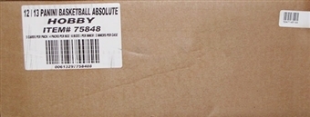 2012/13 Panini Absolute Memorabilia Basketball Hobby 18-Box Case