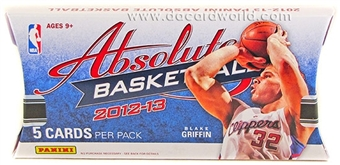 2012/13 Panini Absolute Memorabilia Basketball Hobby Pack