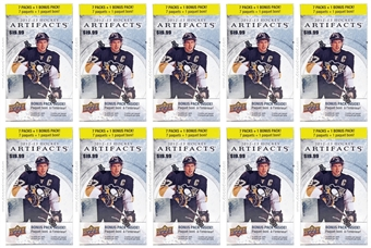 2012/13 Upper Deck Artifacts Hockey 8-Pack Box (Lot of 10)