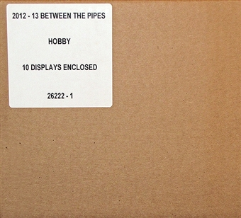 2012/13 In The Game Between the Pipes Hockey Hobby 10-Box Case