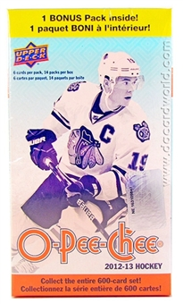 2012/13 Upper Deck O-Pee-Chee Hockey 14-Pack Box (Lot of 20)