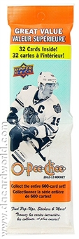 2012/13 Upper Deck O-Pee-Chee Hockey Retail Fat Pack (Lot of 12)