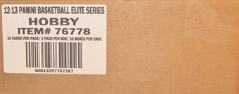 2012/13 Panini Elite Series Basketball Hobby Case - DACW Live 30 Team Random Case Break
