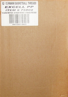 2012/13 Panini Threads Basketball Retail 20-Box Case