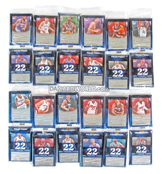 2012/13 Panini Brilliance Basketball Value Rack Pack (Lot of 12)