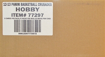 2012/13 Panini Crusade Basketball Hobby 12-Box Case