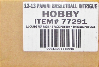 2012/13 Panini Intrigue Basketball Hobby Case - DACW Live 28 Team Random Break