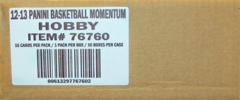 2012/13 Panini Momentum Basketball Hobby Case - DACW Live Random 30 Team Break #2